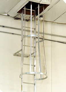 Roof Hatch Access Alaco Ladder
